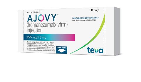 «ТЕВА» выпустила новое лекарство от мигрени